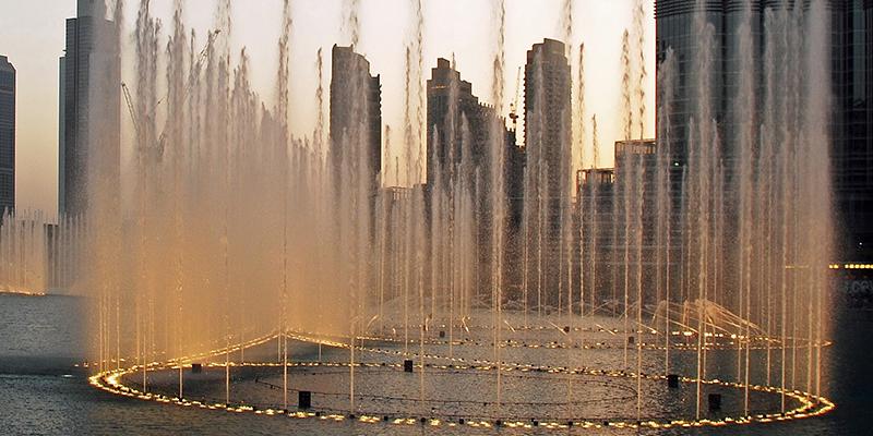 Fuentes Dubái